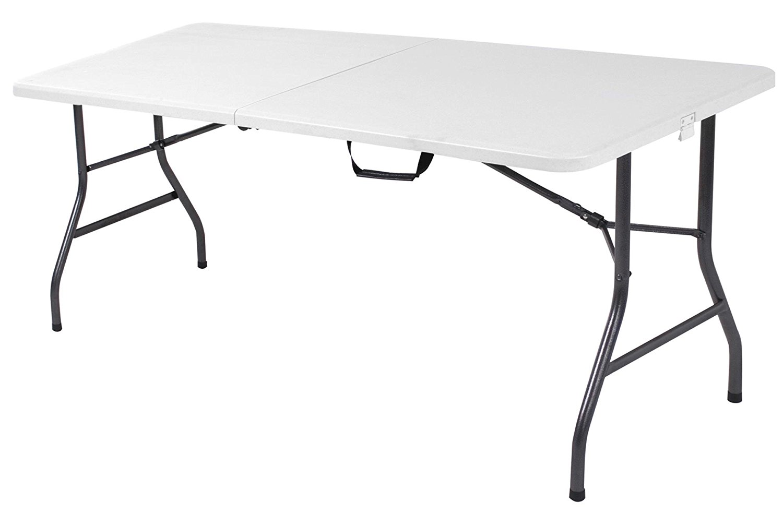 6ft Folding Plastic Table